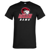 Black T Shirt-WSSU Rams