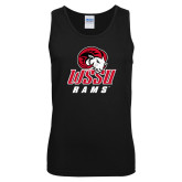 Black Tank Top-WSSU Rams