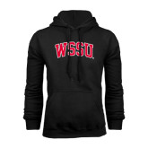 Black Fleece Hoodie-Arched WSSU