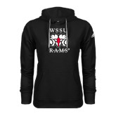 Adidas Climawarm Black Team Issue Hoodie-Stacked WSSU Rams