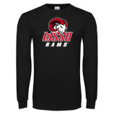 Black Long Sleeve T Shirt-WSSU Rams