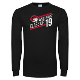 Black Long Sleeve T Shirt-Class of 19