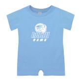 Light Blue Infant Romper-WSSU Rams