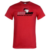 Red T Shirt-WSSU Rams Mascot Mark