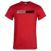 Red T Shirt-WSSU Rams Wordmark