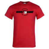 Red T Shirt-Winston Salem Rams