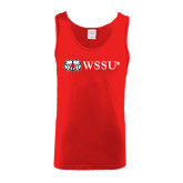 Red Tank Top-Ram WSSU