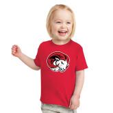 Toddler Red T Shirt-Ram Head