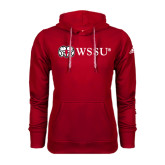 Adidas Climawarm Red Team Issue Hoodie-Ram WSSU