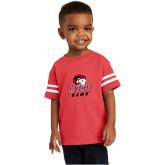 Toddler Vintage Red Jersey Tee-WSSU Rams