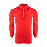 Under Armour Red Tech 1/4 Zip Performance Shirt-Ram WSSU