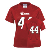 Ladies Red Replica Football Jersey-#44