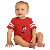 Vintage Red Jersey Onesie-WSSU Rams