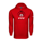 Under Armour Red Performance Sweats Team Hoodie-Basketball Stacked