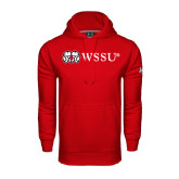 Under Armour Red Performance Sweats Team Hoodie-Ram WSSU