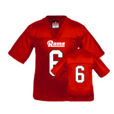 Youth Replica Red Football Jersey-#6