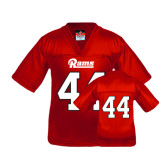 Youth Replica Red Football Jersey-#44