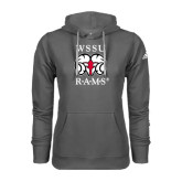 Adidas Climawarm Charcoal Team Issue Hoodie-Stacked WSSU Rams