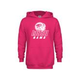 Youth Raspberry Fleece Hoodie-WSSU Rams