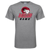 Grey T Shirt-WSSU Rams