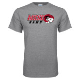 Grey T Shirt-WSSU Rams Horizontal