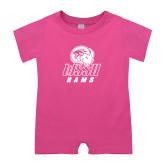 Bubble Gum Pink Infant Romper-WSSU Rams