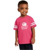 Toddler Vintage Hot Pink Jersey Tee-WSSU Rams