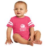 Vintage Hot Pink Jersey Onesie-WSSU Rams