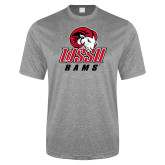 Performance Grey Heather Contender Tee-WSSU Rams