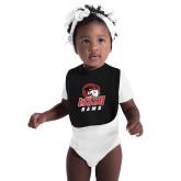 Black Baby Bib-WSSU Rams