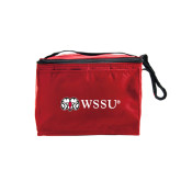 Six Pack Red Cooler-Ram WSSU