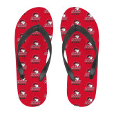 Full Color Flip Flops-WSSU Rams