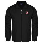 Full Zip Black Wind Jacket-WSSU Rams