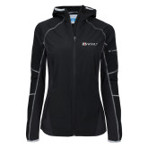 Columbia Ladies Sweet As Softshell Black Jacket-Ram WSSU