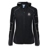 Columbia Ladies Sweet As Black Hooded Jacket-Stacked WSSU Rams
