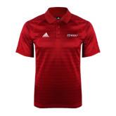 Adidas Climalite Red Jaquard Select Polo-Ram WSSU
