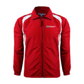 Full Zip Red Wind Jacket-Ram WSSU