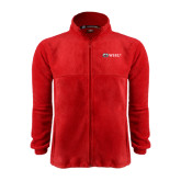 Fleece Full Zip Red Jacket-Ram WSSU