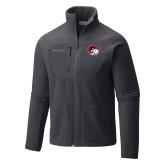 Columbia Full Zip Charcoal Fleece Jacket-Ram Head