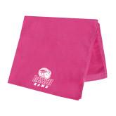 Pink Beach Towel-WSSU Rams