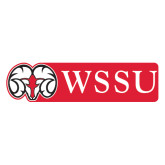 Extra Large Magnet-Ram WSSU, 18 inches wide