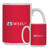 Full Color White Mug 15oz-Ram WSSU