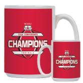 Full Color White Mug 15oz-2015 CIAA Football Champs