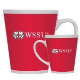 Full Color Latte Mug 12oz-Ram WSSU