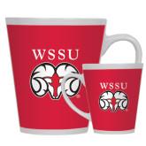 Full Color Latte Mug 12oz-WSSU Ram