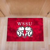 Full Color Indoor Floor Mat-WSSU Ram
