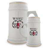 Full Color Decorative Ceramic Mug 22oz-WSSU Ram