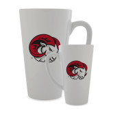 Full Color Latte Mug 17oz-Ram Head