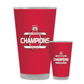 Full Color Glass 17oz-2015 CIAA Football Champs