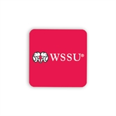 Hardboard Coaster w/Cork Backing-WSSU Rams